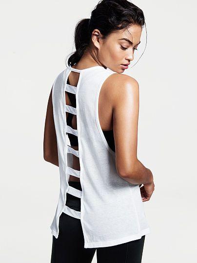 Ladder-back Muscle Tank - Victoria's Secret Sport - Victoria's Secret