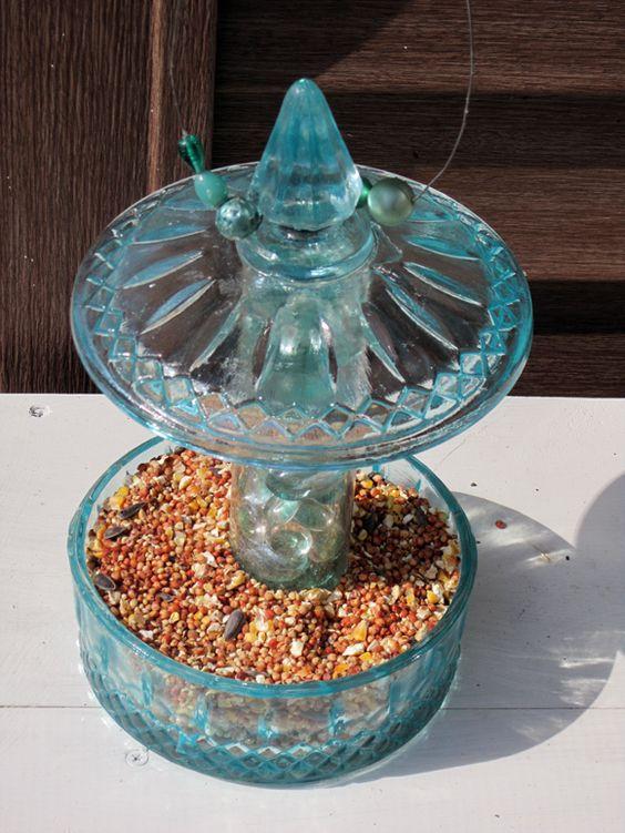 DIY Candy Jar Bird Feeder