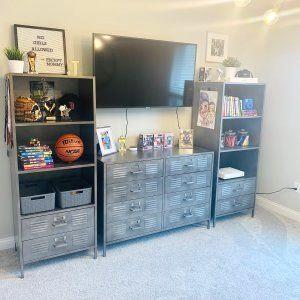 Roomforgaming Small Gaming Bedroom Setup 17 Game Room Ideas On A Budget In 2020 Small Game Rooms Bedroom Setup Gamer Room
