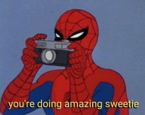 Work It Spiderman Spider Daddy Spiderman Funny Marvel Superhero Filmalien Spiderman Funny Cute Memes Cartoon Memes