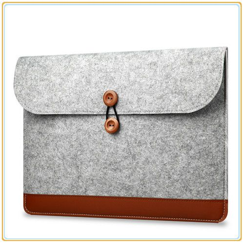 "LOW PRICE PU Leather Sleeve Case For Macbook Laptop Bag Air /Pro/Retina 11.6"",13.3""15.4"",Notebook,- FREE SHIPPING"