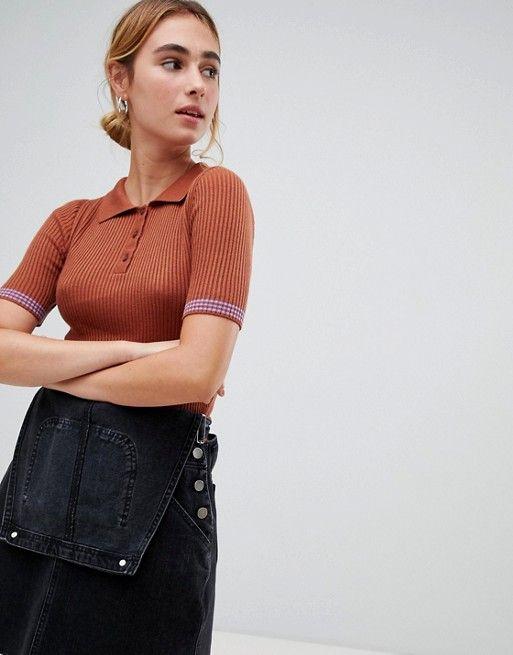 Polo shirt - top for women