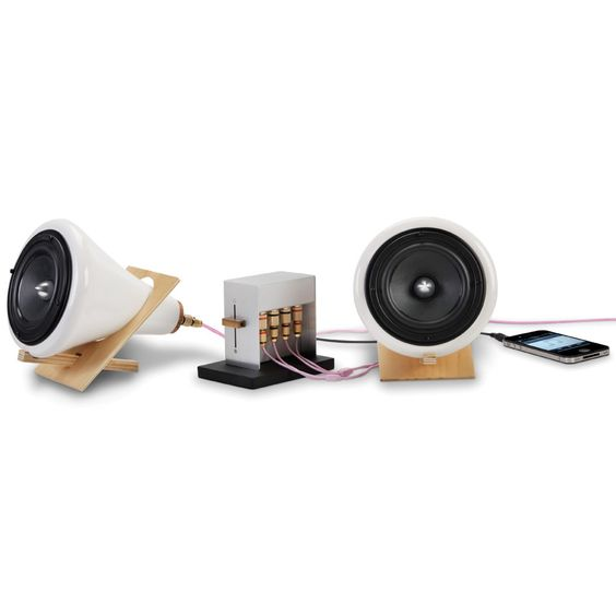 The Sound Enhancing Ceramic Speakers - Hammacher Schlemmer