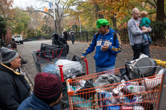 Tensions Over Park Behavior as Homelessness Rises in New York City