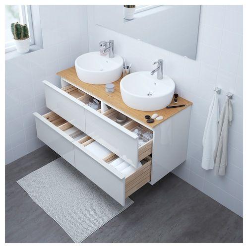 Verwonderlijk IKEA GODMORGON/TOLKEN / TÖRNVIKEN Meuble lavabo av lavabo à poser JS-51