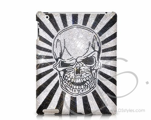 Funny Skull Swarovski Crystal iPad 2 New iPad Case  #ipad http://j.mp/MgZWF7