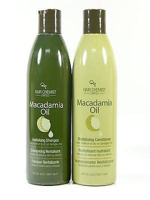 Hair Chemist macadamia Oil Revitalizing Shampoo & conitioner 10 oz.free shipping