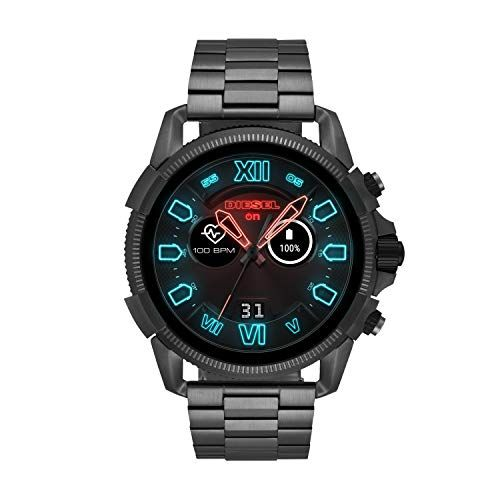 Mens Diesel On Full Guard 2 5 Touchscreen Smartwatch Gunmetal Stainless Steel Model Dzt2011 Best Watches For Men Watches For Men G Shock Watches Mens