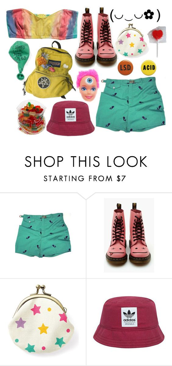 """90`s"" by sucretta ❤ liked on Polyvore featuring adidas Originals, women's clothing, women, female, woman, misses and juniors"