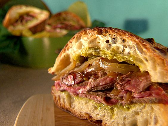 Cuban Steak Sandwiches, not a true cuban but sounds good