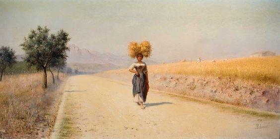 Pasquale Celommi | Four Seasons / Quattro stagioni, 1890-1901 | Tutt'Art@ | Pittura * Scultura * Poesia * Musica |