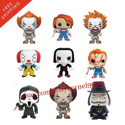 Funko Toys PoP Horror Movies IT 2017 Pennywise w// Boat 4in Figure #472