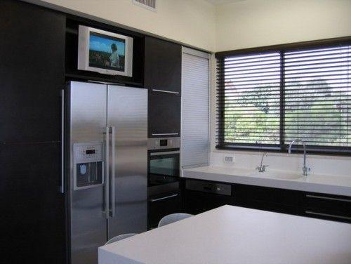 tv above the fridge (dead space)