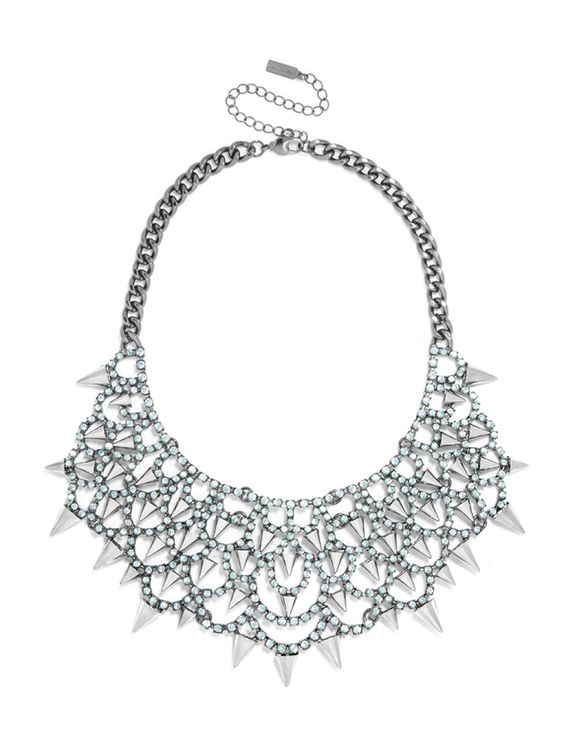 Gothic Fang Bib Necklace | BaubleBar