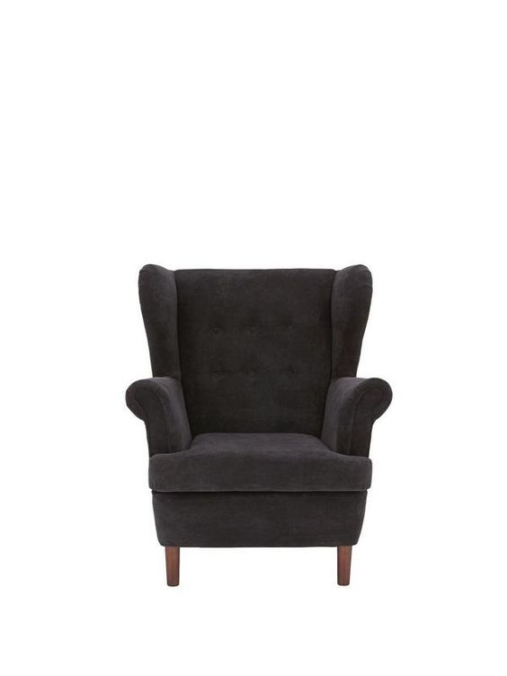 Wilson Fabric Wing Chair | very.co.uk