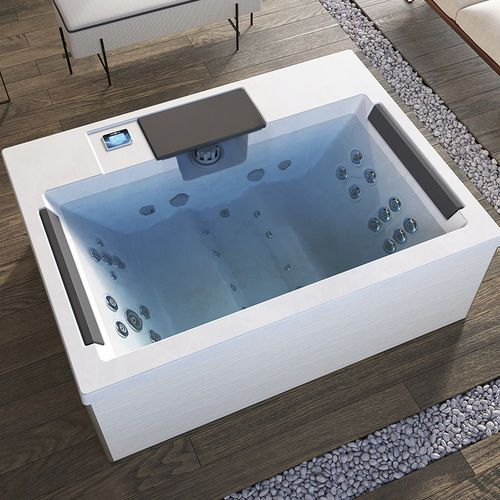 Above Ground Hot Tub Rectangular 4 Seater Indoor Home Aquavia Spa Hot Tub Tub Hot Tub Designs