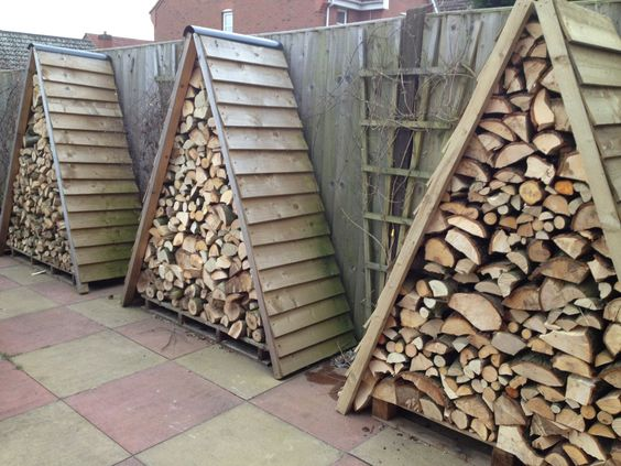 Logpiletrackworld give me some simple log store ideas/designs « Singletrack Forum