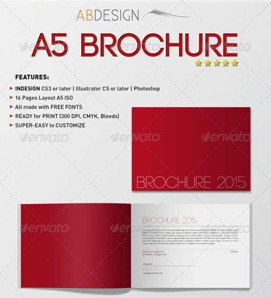 Template For A5 Booklet Ultima In 2020 Brochure Design Template Free Booklet Template Brochure Design