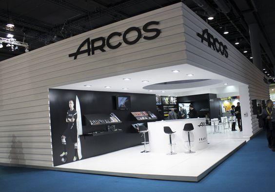 Stand diseñado, constuido y montado para Cuchillos Arcos en Ambiente 2014