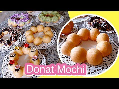 Resep Donat Mochido Lembut Kenyal Youtube Resep Donat