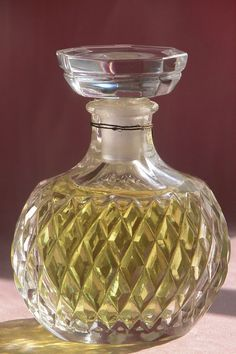 "Lalique Designed Crystal Commercial Perfume Bottle Factice ""Capricci"" ..."
