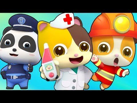 Que Quieres Ser Canciones Infantiles Juego De Roles Para Ninos Babybus Espanol Youtube Kids Songs Popular Kids Songs Cartoon Kids