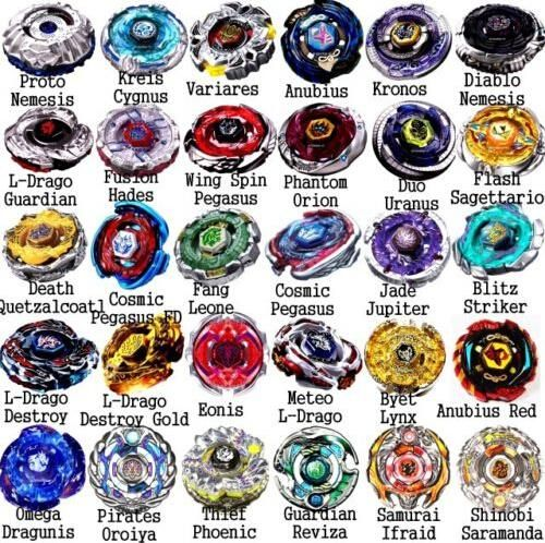 Beyblade Metal Fusion 4D Spinning Top Toy Kids Party Bag Fillers BB105
