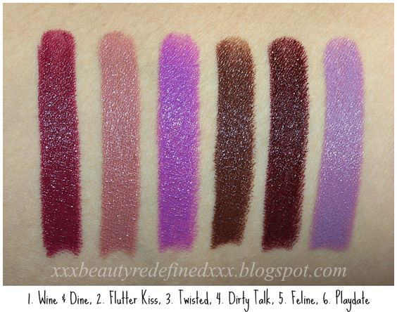 Beautyredefined By Pang Nyx High Voltage Lipsticks