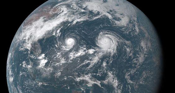 Double typhoons: Atsani and Goni!