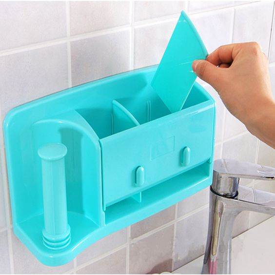 Comprar self adhesive kitchen caja de - Organizador de bolsas de plastico ...