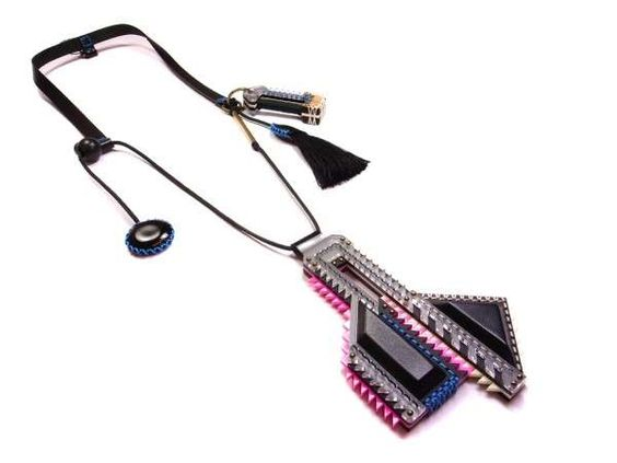 Modern Tribal Necklaces : Tribal Deco Jewelry