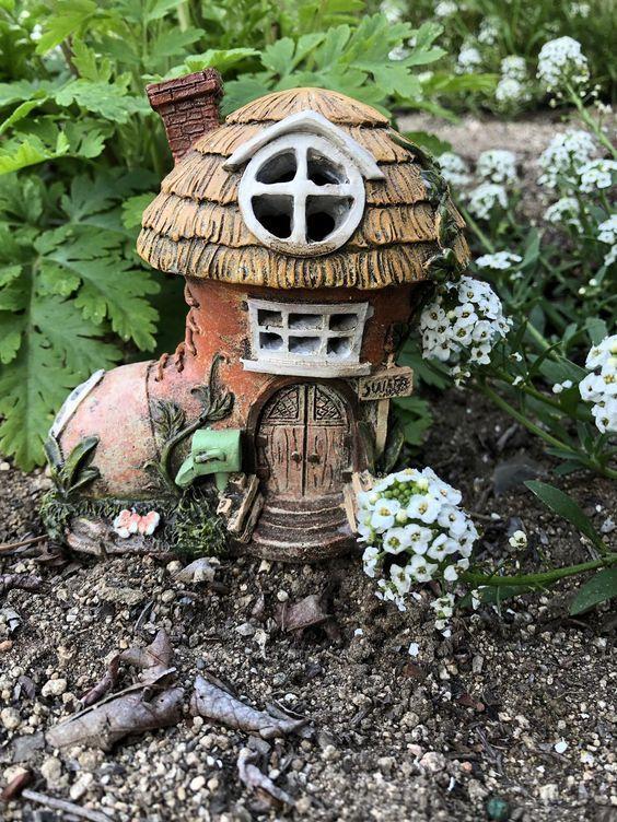 Diy Fairy Garden Design Und Zubehor Marchen Garten Feenhaus Garten