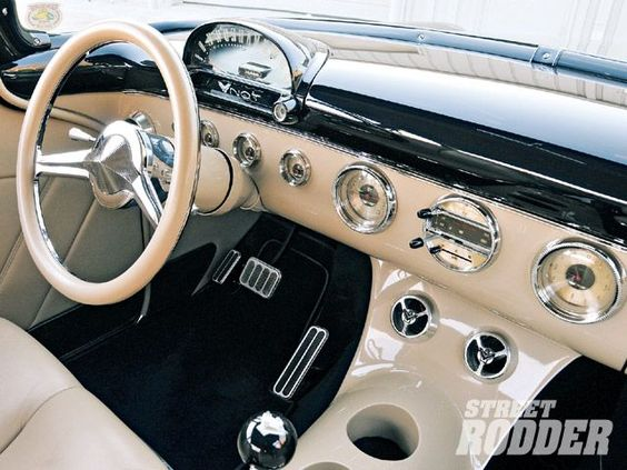 1955 ford customline dash wheeled warrior pinterest cars and ford. Black Bedroom Furniture Sets. Home Design Ideas