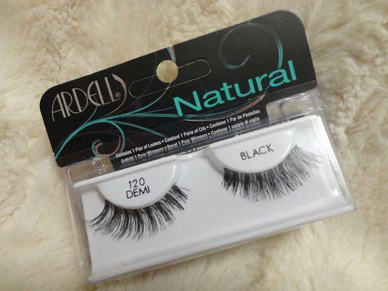 My Sugar Nails: False Lashes || Ardell - 120 Demi lashes