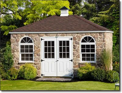 Cottage style garden sheds storage sheds lancaster for Shed roof cottage