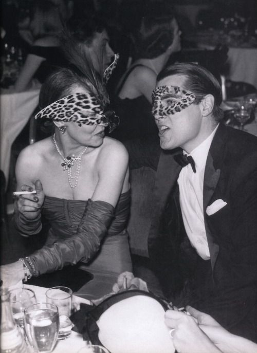 leopard masks. rawr.