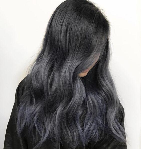 угольное окрашивание волос