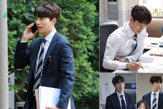"Yoon Hyun Min Shows His Softer Side In Behind-The-Scenes Photos From ""Mama Fairy And The Woodcutter"""