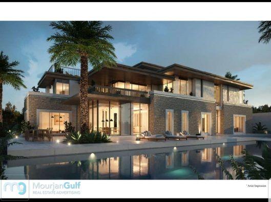 للبيع فيلا في أبوظبي على ساحل الامارات ضمن مجمع سكني راقي حيث يضم محمية طبيعية شاطئ خاص مارينا خاصة مارينا Architectural Inspiration Dubai Real Estate Villa