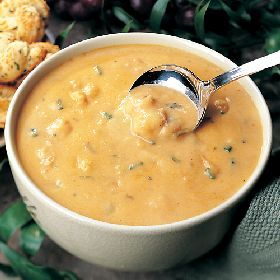 Lobster Bisque (from All-Recipes.com)    Ingredients:    6 tablespoons butter  6 tablespoons all-purpose flour  1 teaspoon salt  1/4 teaspoon ground black pepper  1/2 teaspoon celery salt  4 1/2 cups milk  1 1/2 cups chicken stock  3 tablespoons minced onion  3 cups cooked lobster meat, shredded  1 tablespoon paprikia  1/2 cup light cream