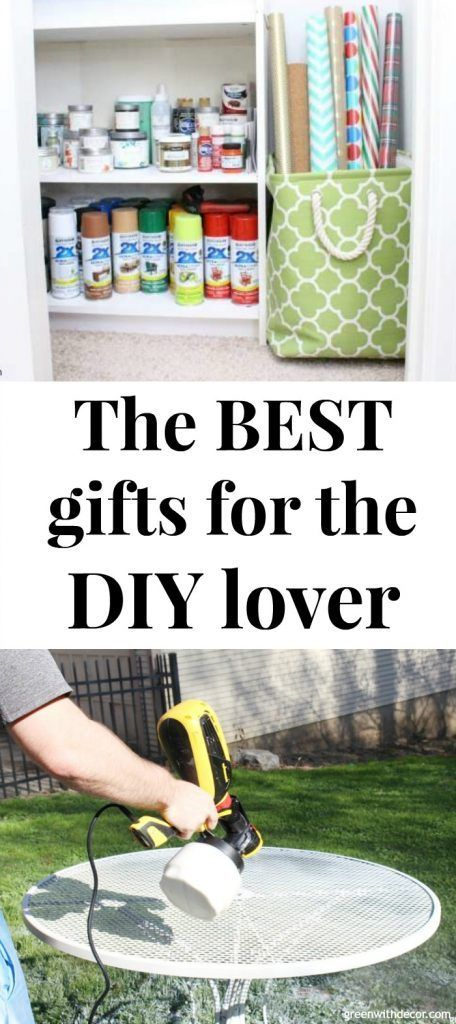 Great Gift Ideas For The Diy Lover Green With Decor Christmas Projects Diy Summer Diy Projects Spring Summer Decor