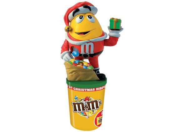 m&m's Peanut Spender Weihnachten