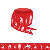 Decorations - Spiderman Crepe Paper