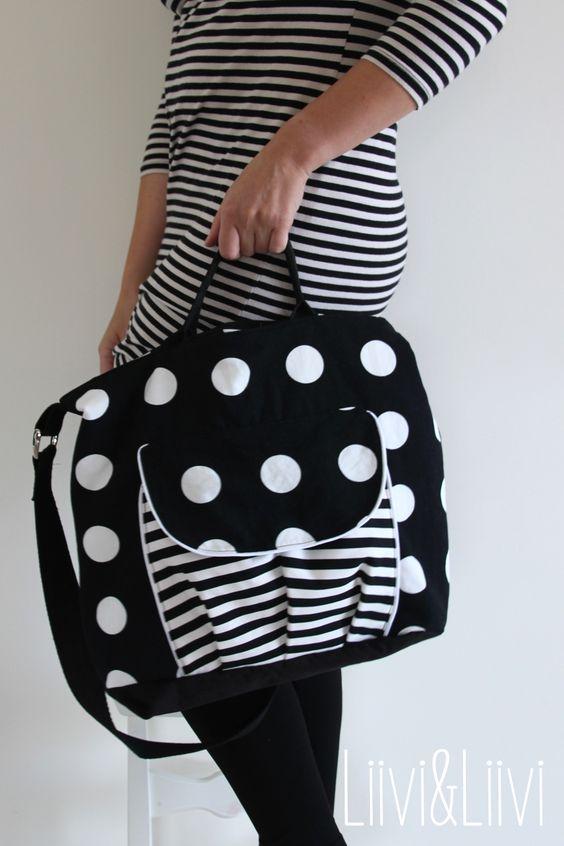 Probenähen Tasche Citybag von Keko-Kreativ