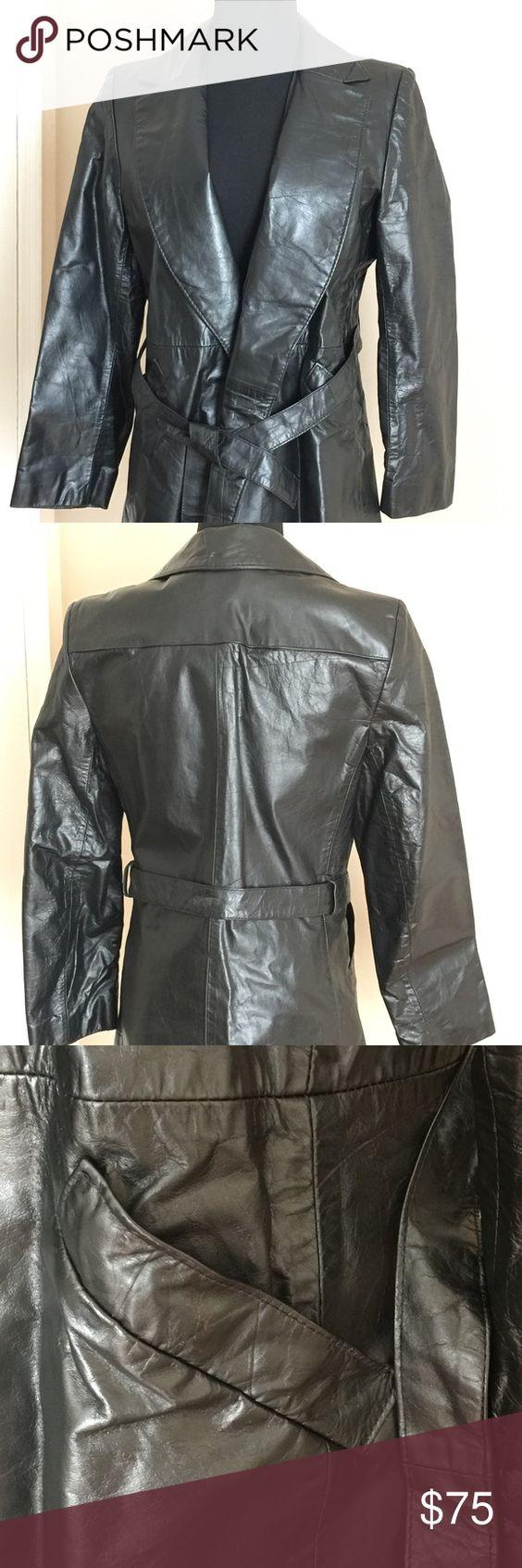 Leather jacket damage - Days Fits Vintage Leather Jacket Leather Jackets Belt Pockets Winters 100 Leather Damage Sides Jackets Coats
