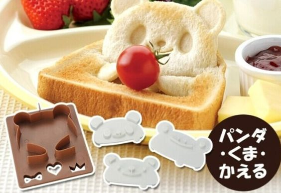 Aliexpress.com: Comprar Kawaii FROG + Panda forma pan tostado talladora del molde del molde Stamper talladora del molde del molde KIT ; KIT de Kitchen TOOL Set Mold Sandwich de casos molde fiable proveedores en Jasmin Beauty Store