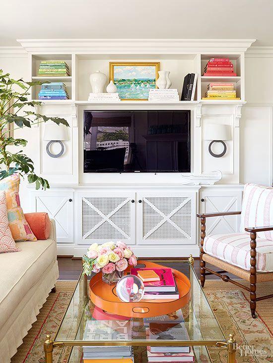Drywall Open Shelves And Entertainment Center On Pinterest