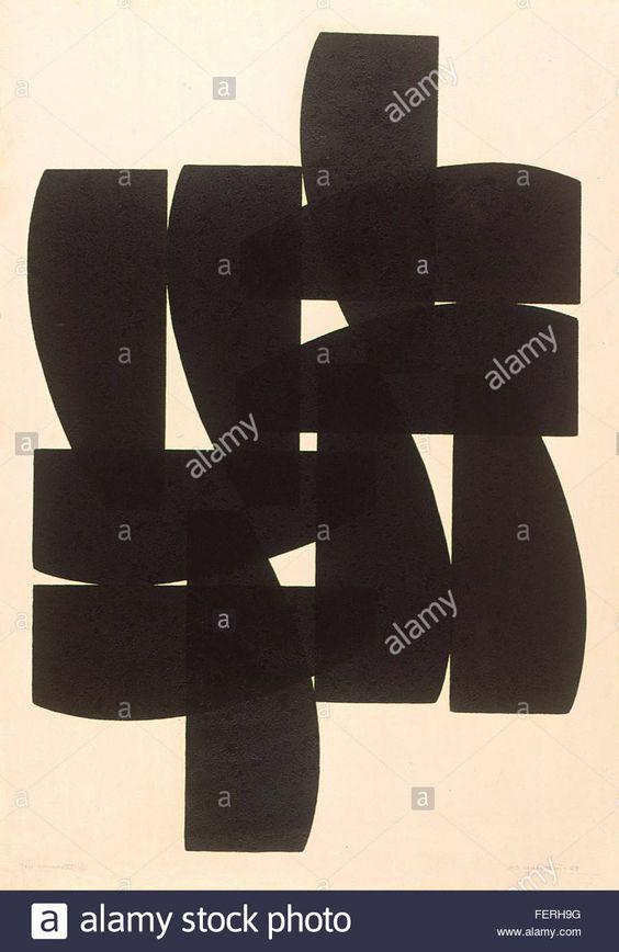 Jogo Cruzado VI   Autor: Odetto Guersoni Ano: 1969 Técnica: Linoleogravura Dimensão: 90cm x 64cm Jogo Cruzado VI   Autor Odetto Guersoni Ano…