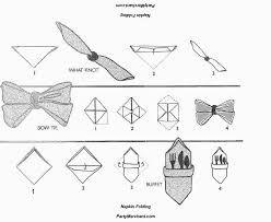 tutos rond serviette papillon - Recherche Google