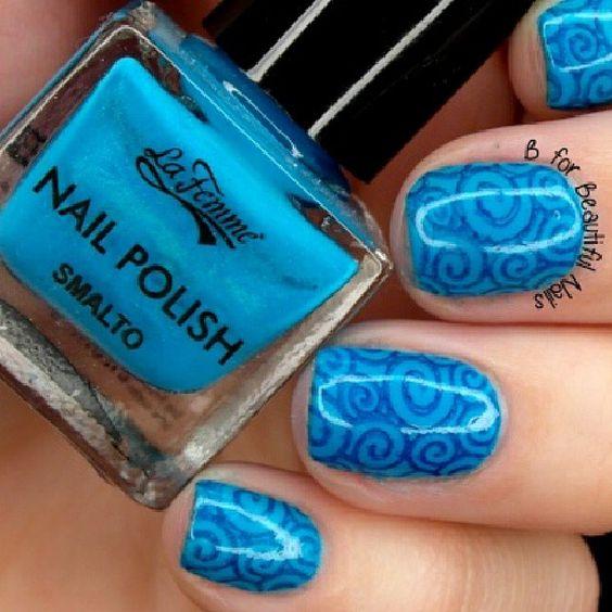 Cielo sulle unghie. .. #Smalto #Smalti #NailArt #Cielo #Sky #Blu #Blue #Azzurro #Manicure #Nails #CampionarioColori #SmaltoProfessionale #Collection #Collezione #CampionarioSmalti #Blog #Swatches #regram #nailpaint #Art #NiceNails
